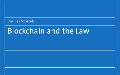 """The book """"Blockchain and Law"""" for free"""